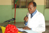 Prof Kpadonou, chef service réadaptation CNHU Cotonou