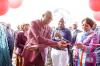 inauguration du marché de Mwimbila dans la commune de Kenya à Lubumbashi pour les maraîchers formés aux techniques de production agricole améliorées.